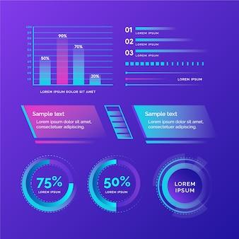 Infografía futurista