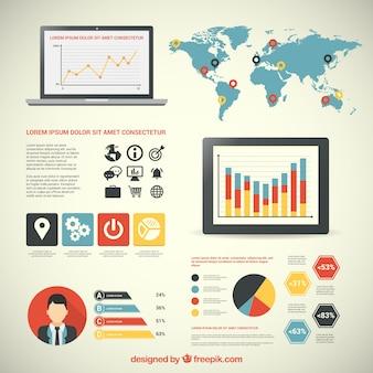 Infografía negocios internacionales