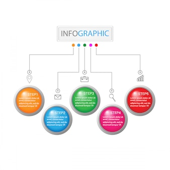Infografia de negocios