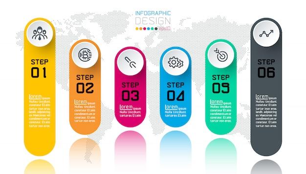 Infografía de negocios