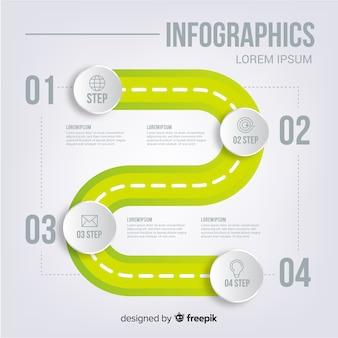 Infografía con paso y opciones.