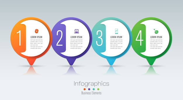 Infografía con pasos y opciones.