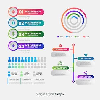 Infografía de pictograma