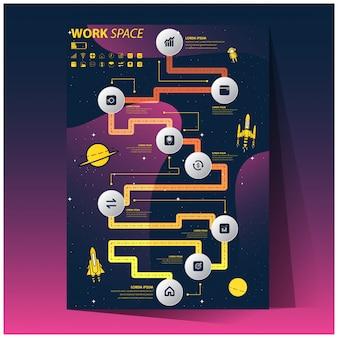 Infografía para plan de negocios.