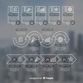 Infografía profesional con imagen
