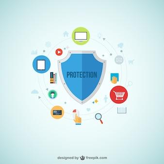 Infografía protección