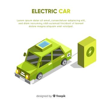 Infografía sobre coche eléctrico