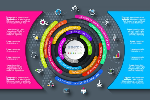 Infografías de negocios