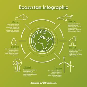 Infográfica del ecosistema