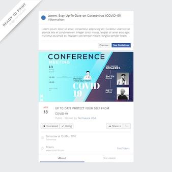 Información del evento social sobre covid-19