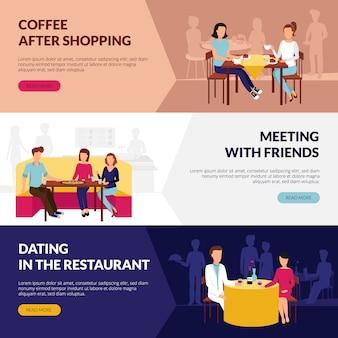 Información sobre el servicio de restaurante.