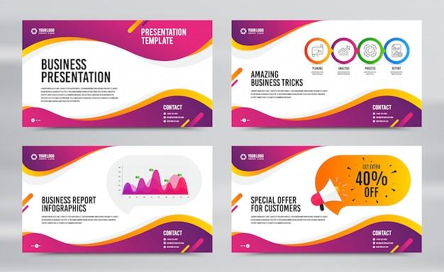 Informe de diapositivas de presentación