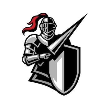 Insignia de armadura de caballeros