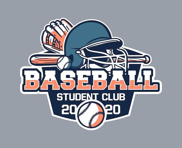 Insignia de béisbol vintage