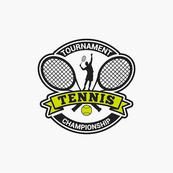 Insignia del club de tenis