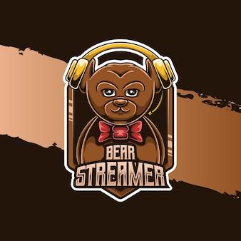 Insignia del deporte del oso