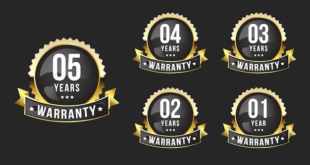 Insignia de garantía premium