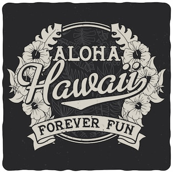 Insignia de hawai