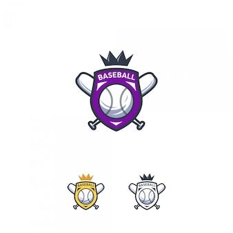 Insignia del logo de béisbol