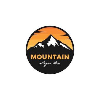 Insignia de montaña insignia