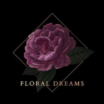 Insignia de sueños florales