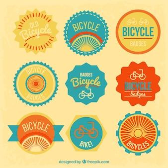 Insignias de bicicleta