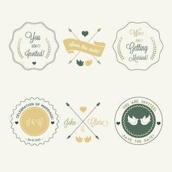 Insignias para bodas