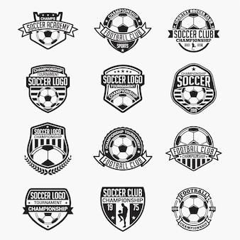 Insignias de fútbol y logotipos
