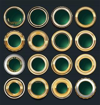 Insignias de oro