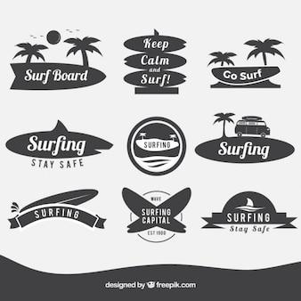 Insignias de tablas de surf