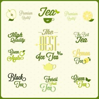 Insignias de té