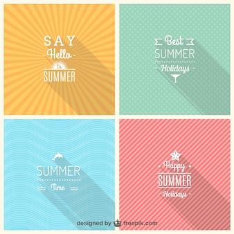 Insignias de verano