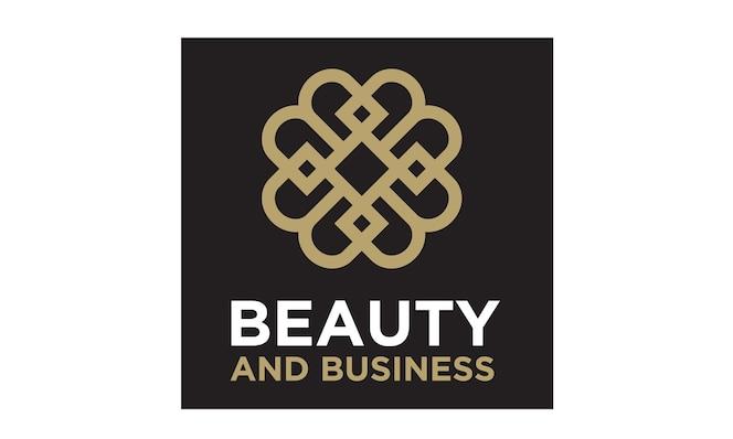 Inspiración de diseño de logotipo de patrón / inicial de bb