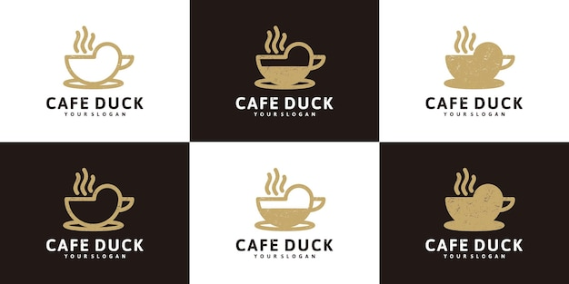 Inspiración de diseño de logotipo de café, logotipo para cafetería, cafetería y otros
