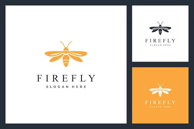 Inspiración del diseño del logotipo de firefly