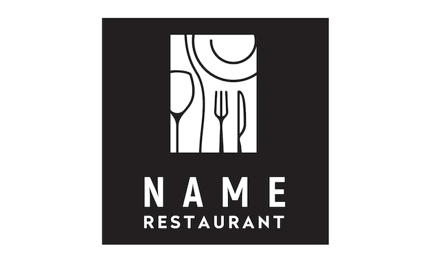 Inspiración de diseño de logotipo de restaurante