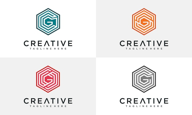 Inspiración del logo de la letra g