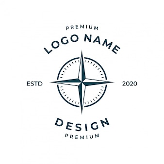 Inspiración del logotipo de la brújula.