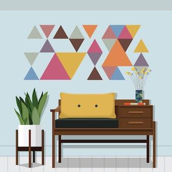 Inspiración de la sala de estar
