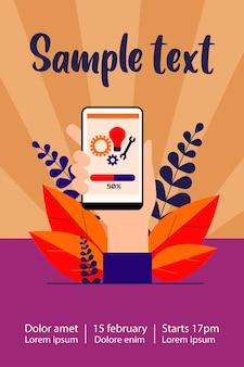 Instalación de la aplicación para smartphone