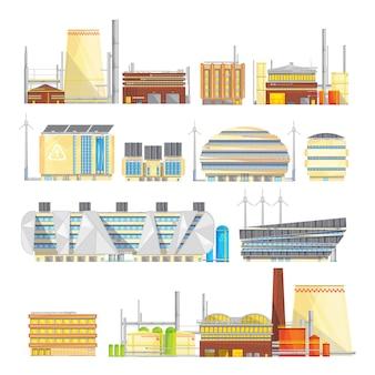 Instalaciones industriales amigables con el medio ambiente. eliminación de residuos sostenible con su conversión