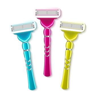 Instrumento de afeitar realista