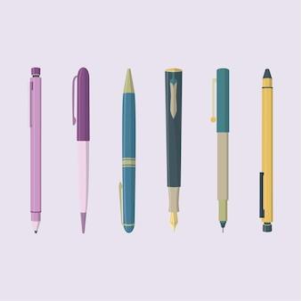 Instrumentos de escritura
