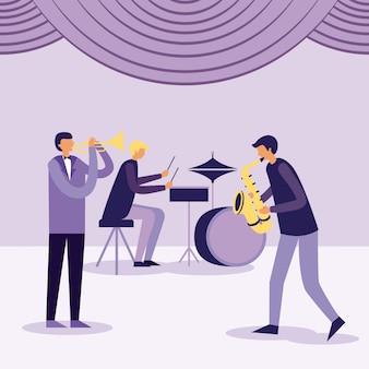 Instrumentos musicales de personas