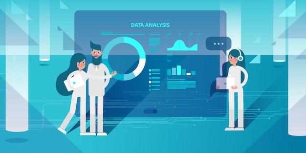 Inteligencia empresarial y análisis de big data.