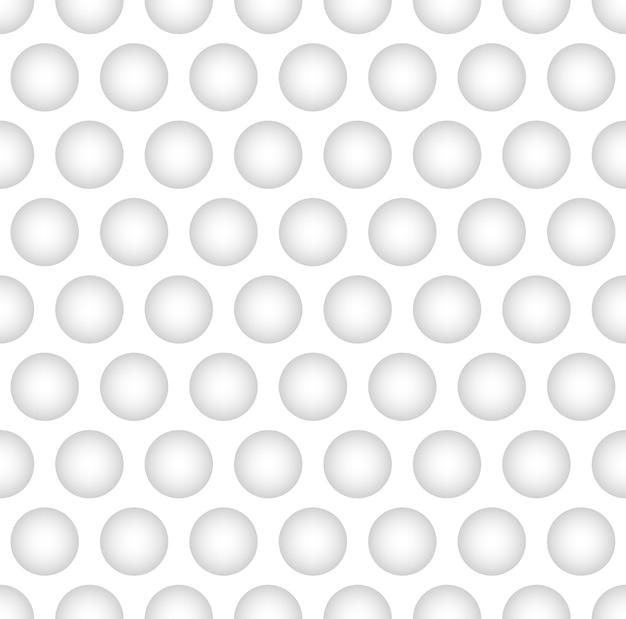 Interesante bola cóncava en el fondo de color blanco