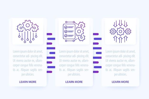 Interfaz de la aplicación de automatización e integración