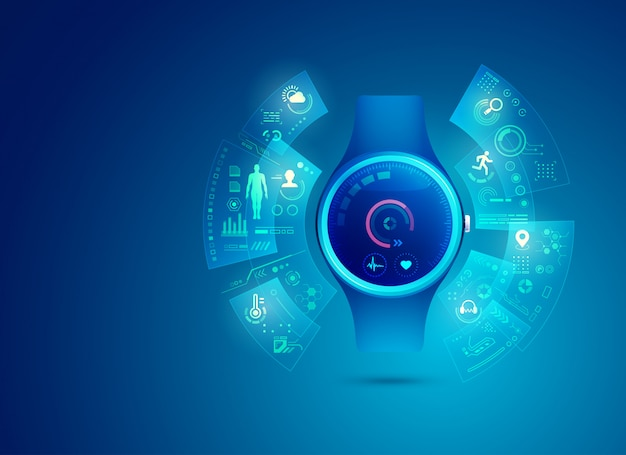 Interfaz de aplicación de reloj inteligente