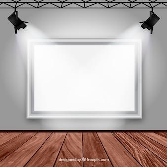 Interior de galería