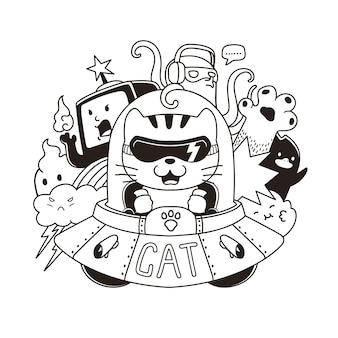 Invasión de gatos